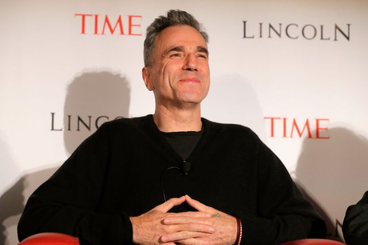 NEW YORK, NY - OCTOBER 25:  Actor Daniel Day-Lewis speaks onstage at TIME's screening of Lincoln and Q & A on October 25, 201