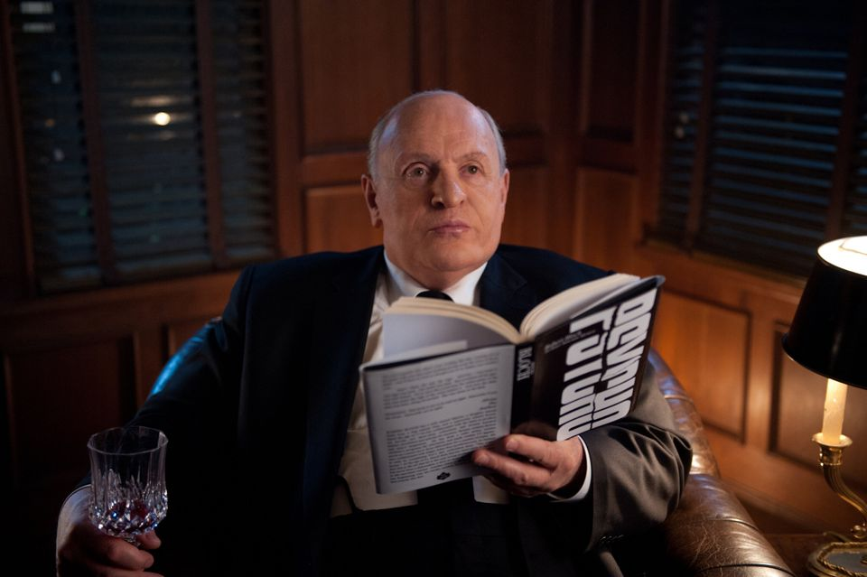"This film image released by Fox Searchlight shows Anthony Hopkins as Alfred Hitchcock in ""Hitchcock."" (AP Photo/Fox Searchlig"