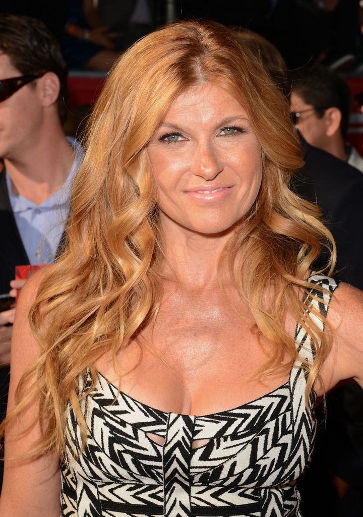 LOS ANGELES, CA - JULY 11:  Actress Connie Britton arrives at the 2012 ESPY Awards at Nokia Theatre L.A. Live on July 11, 201