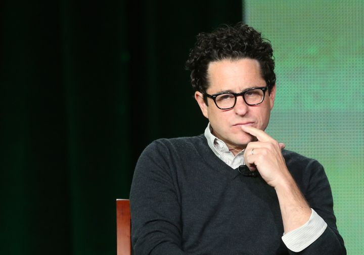 PASADENA, CA - JANUARY 06:  Executive Producer J.J. Abrams speaks onstage at the 'Revolution' panel session during the NBCUni