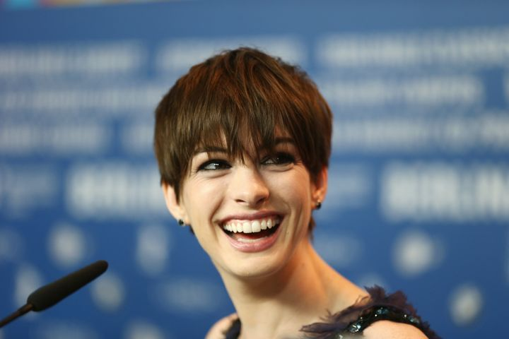 BERLIN, GERMANY - FEBRUARY 09:  Anne Hathaway attends the 'Les Miserables' press conference during the 63rd Berlinale Interna