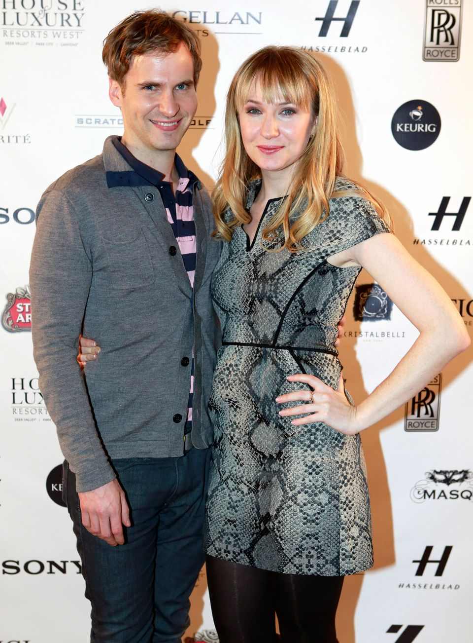 """IMAGE DISTRIBUTED FOR RAND LUXURY - Ryan Spahn, left, and Halley Feiffer from the film """"He's Way More Famous than You"""" are se"""