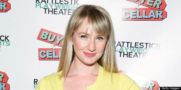NEW YORK, NY - APRIL 03:  Halley Feiffer attends 'Buyer And Cellar' Off Broadway Opening Night at Rattlestick Playwrights The