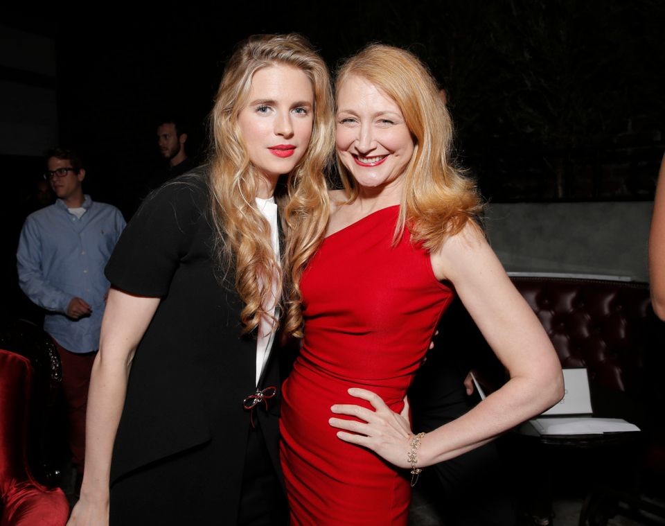 IMAGE DISTRIBUTED FOR FOX SEARCHLIGHT - Brit Marling, left, and Patricia Clarkson attend the after party for the LA premiere