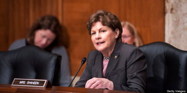 UNITED STATES - May 7 : Chairman Jeanne Shaheen, D-NH., during the Legislative Branch Subcommittee hearing on the FY2014 Budg
