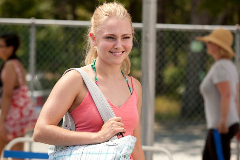 "This film publicity image released by Fox Searchlight shows AnnaSophia Robb in a scene from ""The Way Way Back."" (AP Photo/Fox"