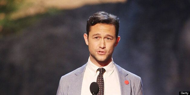 CULVER CITY, CA - JUNE 08:  Joseph Gordon-Levitt speaks onstage at Spike TV's 'Guys Choice 2013' Awards held at Sony Pictures