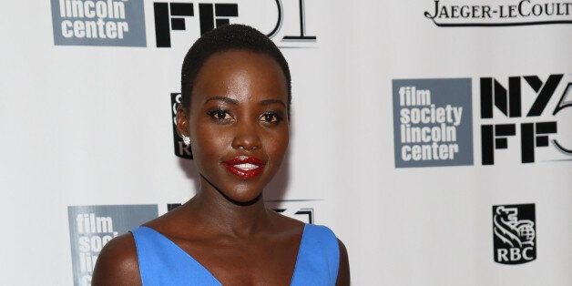 NEW YORK, NY - OCTOBER 08:  Actress Lupita Nyong'o attends the '12 Years A Slave' premiere during the 51st New York Film Fest