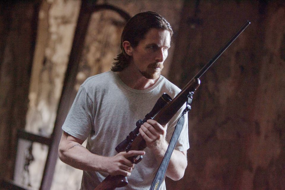 "This image released by Relativity Media shows Christian Bale in a scene from ""Out of the Furnace."" (AP Photo/Relativity Media"