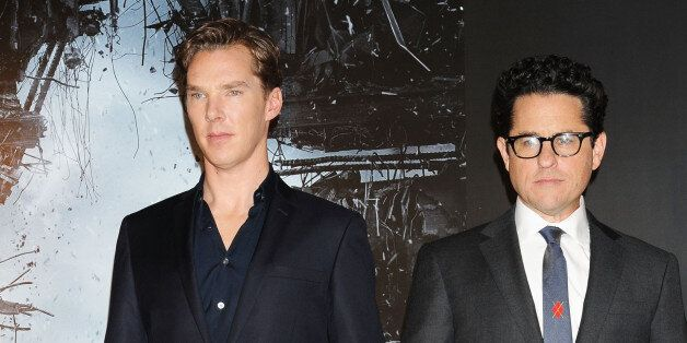 TOKYO, JAPAN - DECEMBER 04:  (L-R) Actor  Benedict Cumberbatch and director J.J. Abrams attend the 'Star Trek Into Darkness'