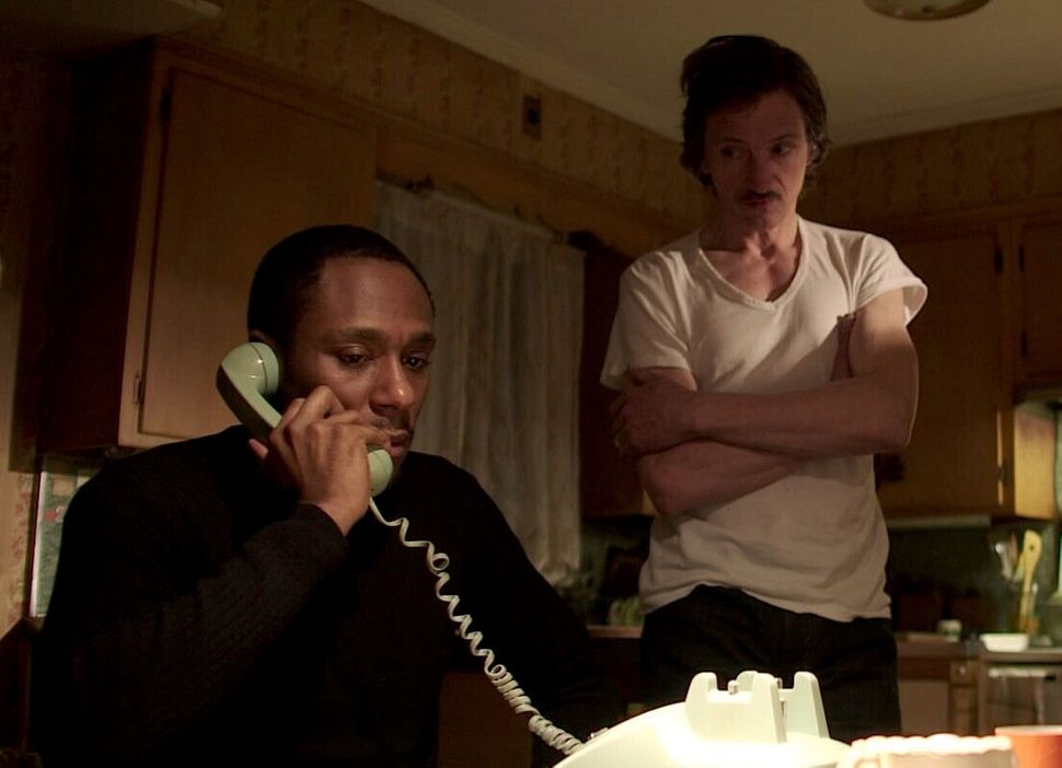 """John Hawkes and Yasiin Bey (aka Mos Def) star as Louis Garra and Ordell Robbie in this adaptation of Elmore Leonard's """"The Sw"""