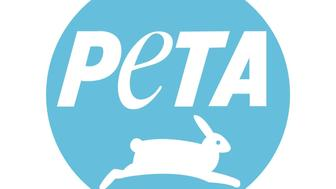 PETA logo, graphic element on white