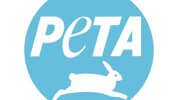 PETA logo, graphic element on white