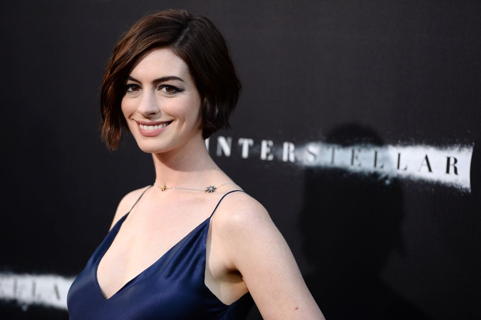 """Of all the surprises in """"Interstellar,"""" one of the biggest might be the size of Anne Hathaway's role. She's the female lead a"""