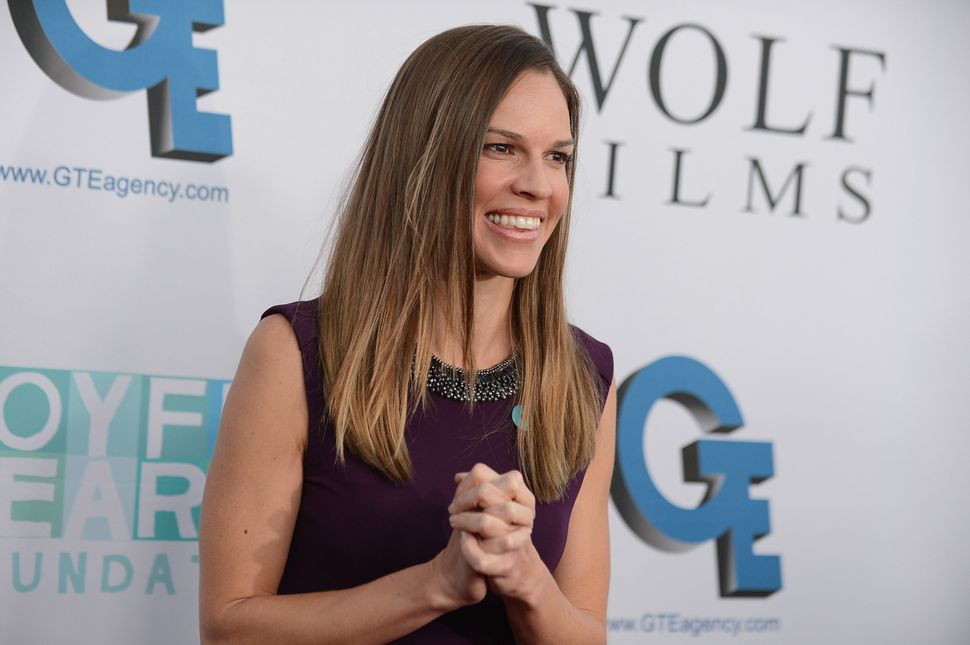 """Hilary Swank has collected Best Actress accolades twice (""""Boys Don't Cry,"""" """"Million Dollar Baby""""), and in theory """"The Homesma"""