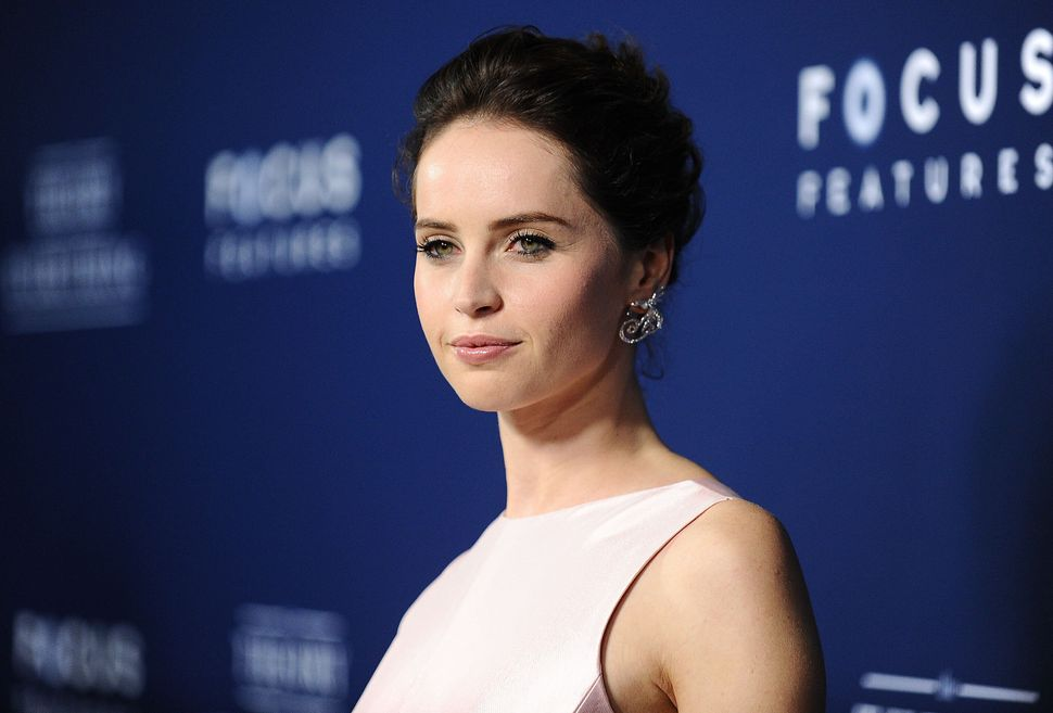 """""""Formidable"""" is how Eddie Redmayne described Felicity Jones, and he's right. She's so good in """"The Theory of Everything"""" that"""