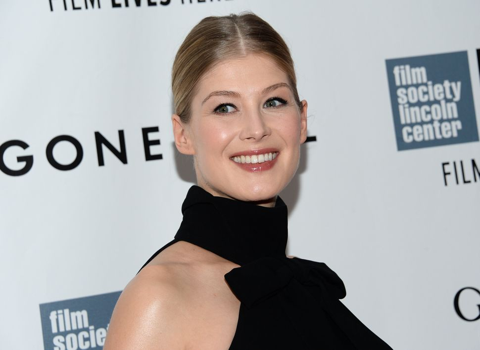 """No movie this fall has been more closely examined than """"Gone Girl,"""" and Rosamund Pike is, by most accounts, the movie's stand"""