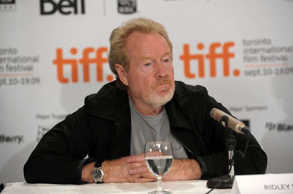 "Three-time Best Director nominee Ridley Scott last appeared here for 2001's ""Black Hawk Down,"" and most of the movies he's ma"