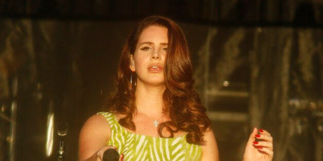 Lana Del Rey performs at the Austin City Limits Music Festival on Saturday, Oct. 4, 2014, in Austin, Texas. (Photo by Jack Pl