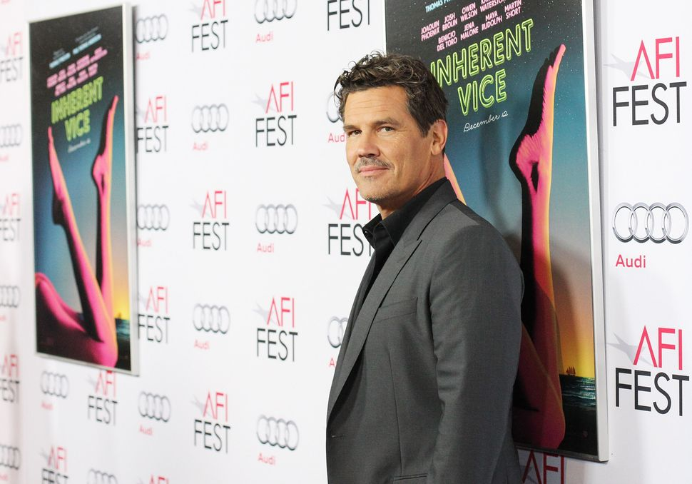 """Josh Brolin's Oscar campaign began when he stole the biggest laugh in the <a href=""""https://www.huffpost.com/entry/inherent-vi"""
