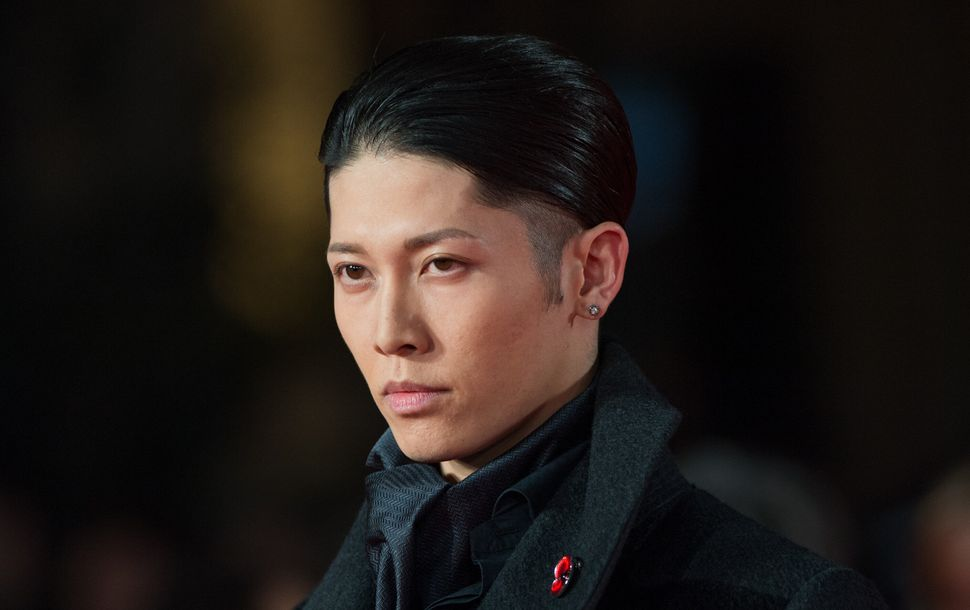 """Japanese pop star Miyavi doesn't arrive until more than an hour has passed in Angelina Jolie's """"Unbroken."""" Once he shows up,"""