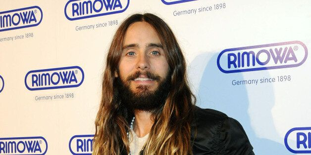 NEW YORK, NY - OCTOBER 28:  Actor/singer Jared Leto attends the Rimowa NYC Store Grand Opening at Rimowa on October 28, 2014