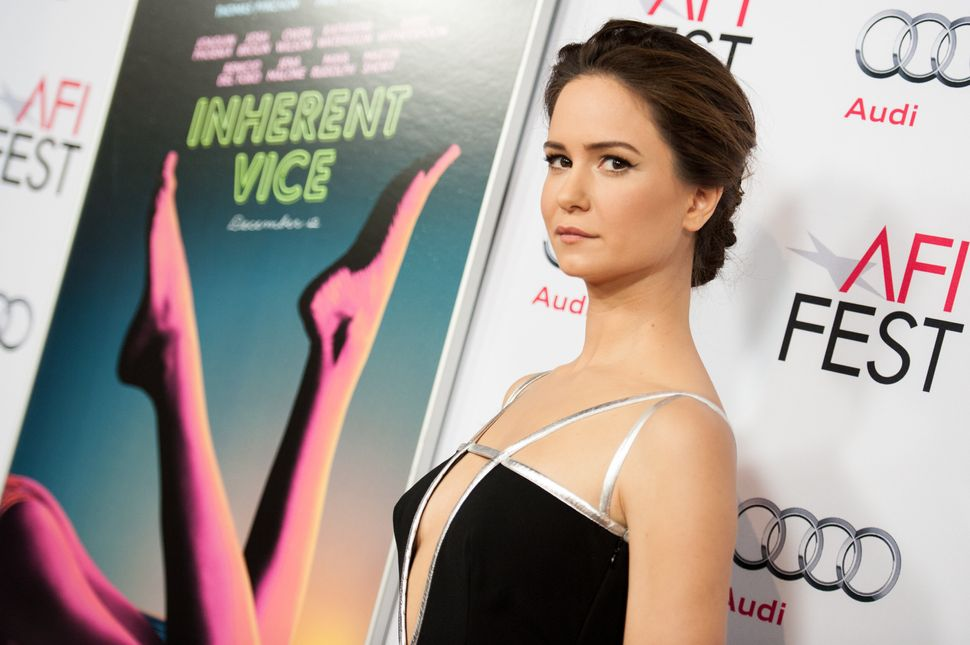 """In an alternate reality, Katherine Waterston is a locked-down Best Supporting Actress nominee for """"Inherent Vice."""" This is a"""
