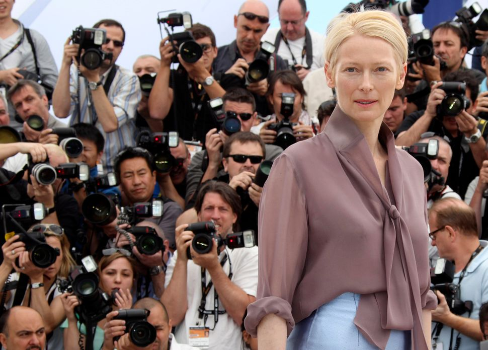 """Tilda Swinton won Best Supporting Actress for 2007's """"Michael Clayton,"""" a fairly quiet role by Tilda Swinton standards. In """"S"""