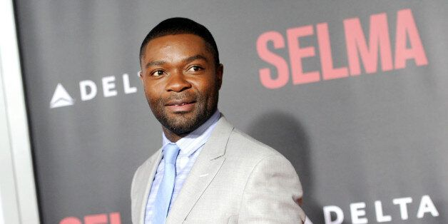 "Actor David Oyelowo attends the premiere of ""Selma"" at the Ziegfeld Theatre on Sunday, Dec. 14, 2014, in New York. (Photo by"