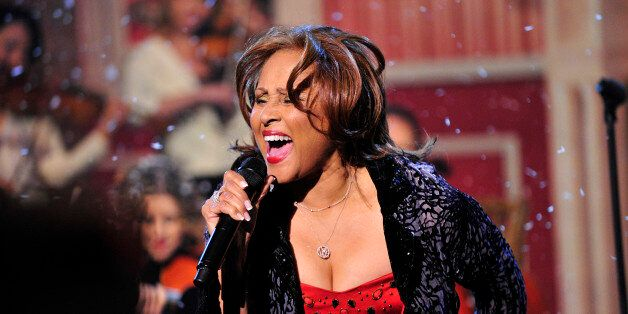 NEW YORK - DECEMBER 23: For the 17th year on the broadcast, singer Darlene Love, who was recently chosen for induction into t