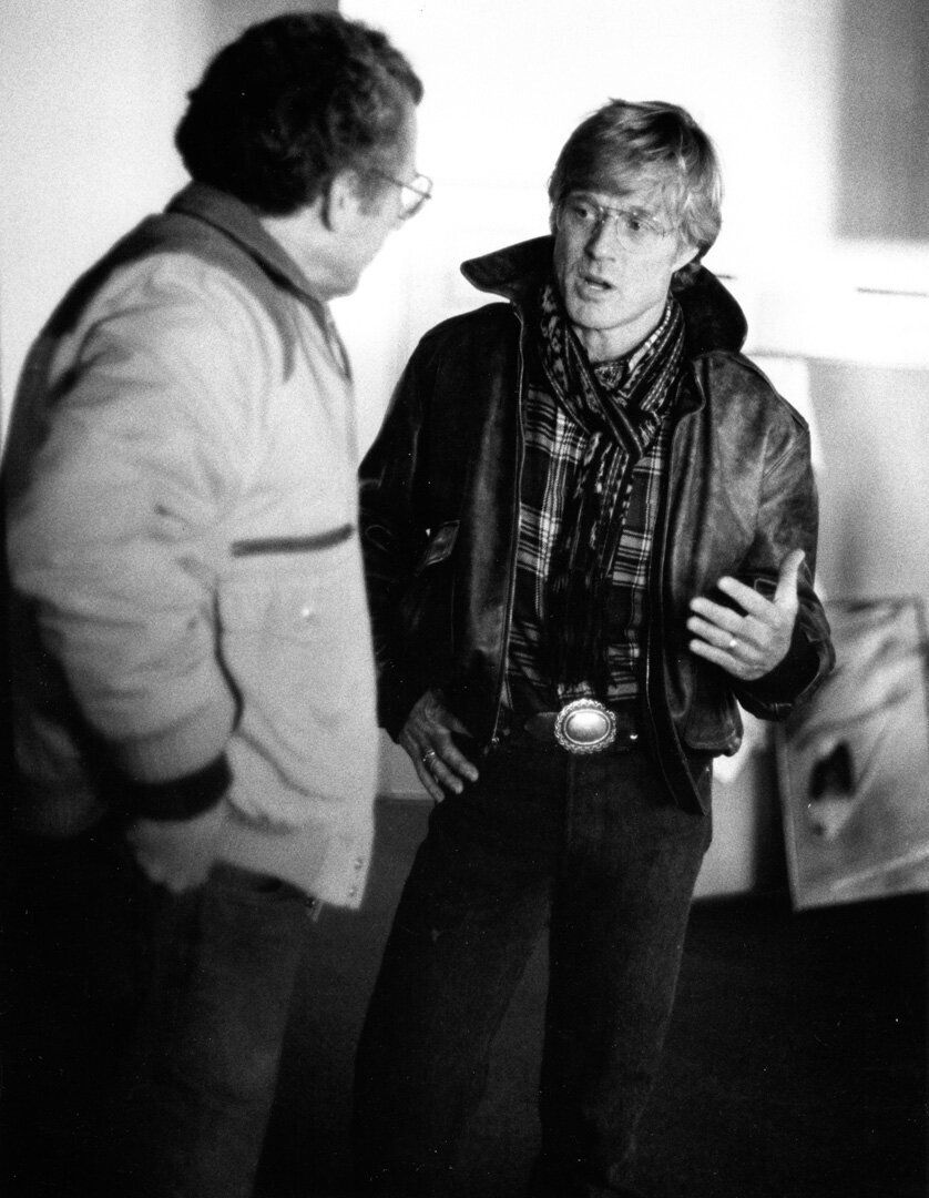 1989: Sydney Pollack and Robert Redford
