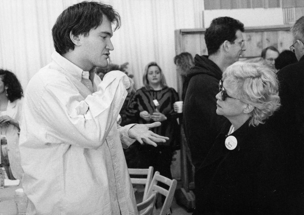 1992: Quentin Tarantino and Ronna Wallace