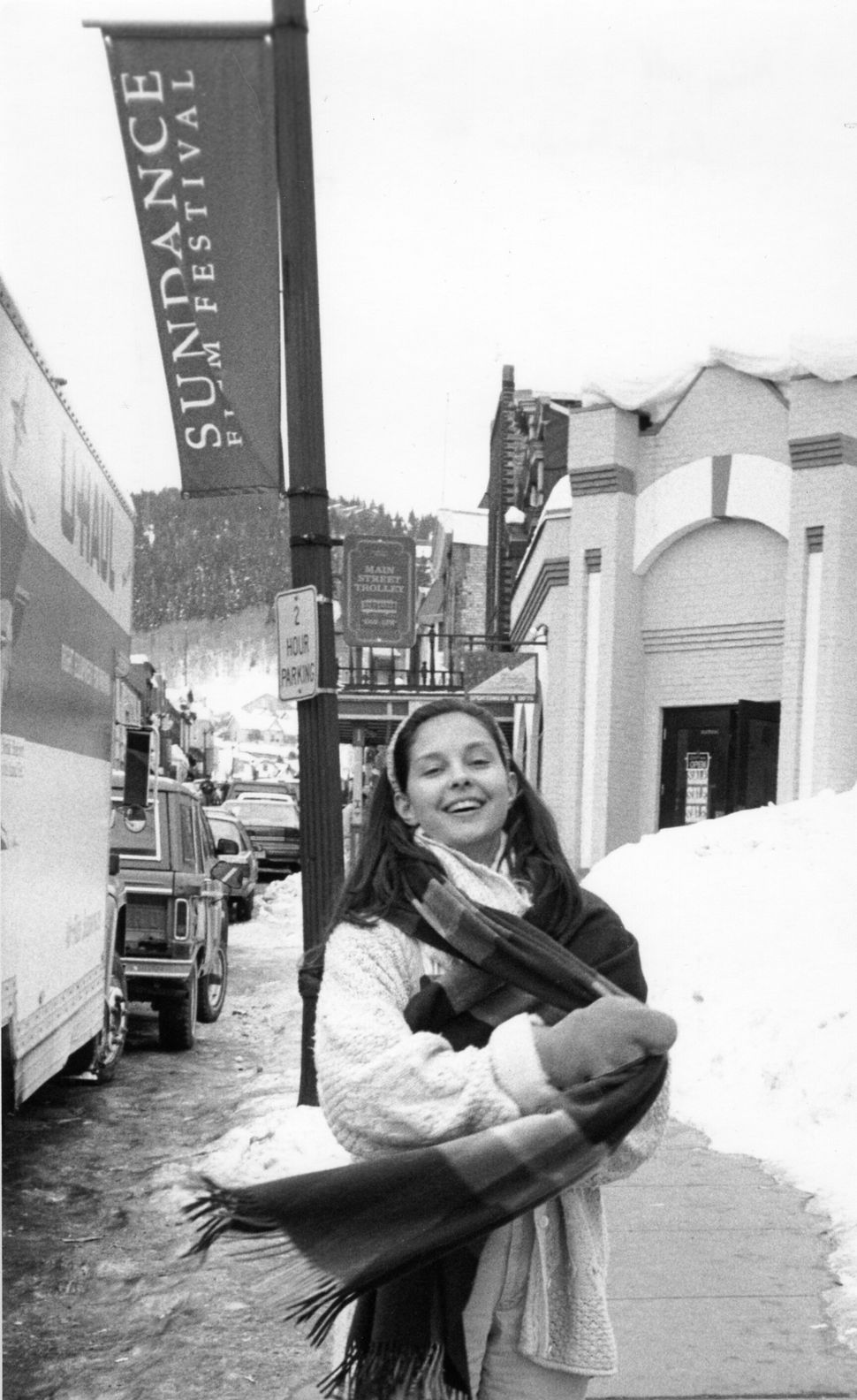 """1993: Ashley Judd at Sundance for """"Ruby in Paradise."""""""