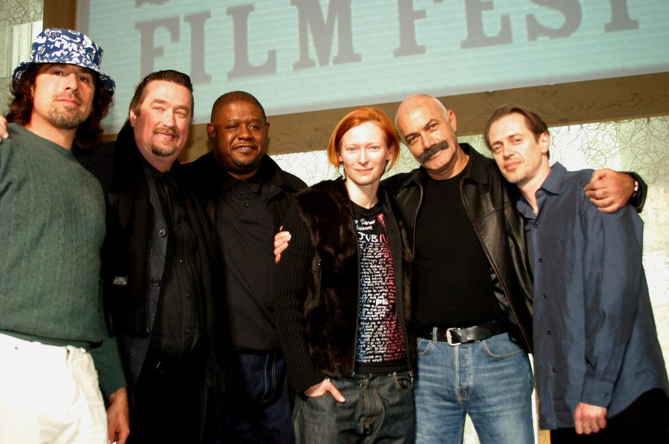 2003: Sundance Jury, with Forest Whitaker, Tilda Swinton and Steve Buscemi