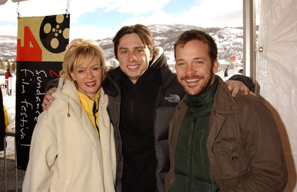 """2004: Jean Smart, Zach Braff and Peter Sarsgaard at Sundance for the premiere of """"Garden State."""""""