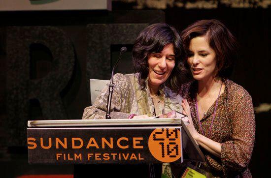 "2010: ""Winter's Bone"" director Debra Granik and Parker Posey."