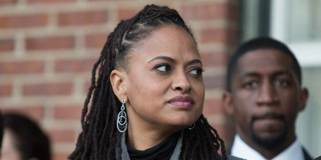 SELMA, AL - JANUARY 18: 'Selma' director Ava DuVernay participates in the ceremony to commemorate the life of Dr. Martin Luther King, Jr. on January 18, 2015 in Selma, Alabama. (Photo by David A. Smith/Getty Images)