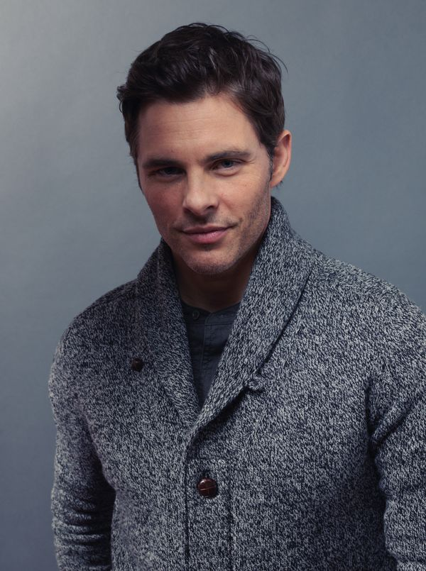 """The D Train"" star James Marsden."