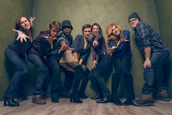 """""""Me & Earl & The Dying Girl"""" stars Molly Shannon, Katherine C. Hughes, RJ Cyler, Olivia Cooke, Thomas Mann, Connie Britton an"""