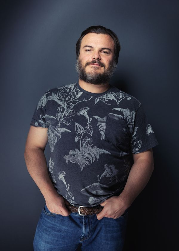 """The D Train"" star Jack Black."