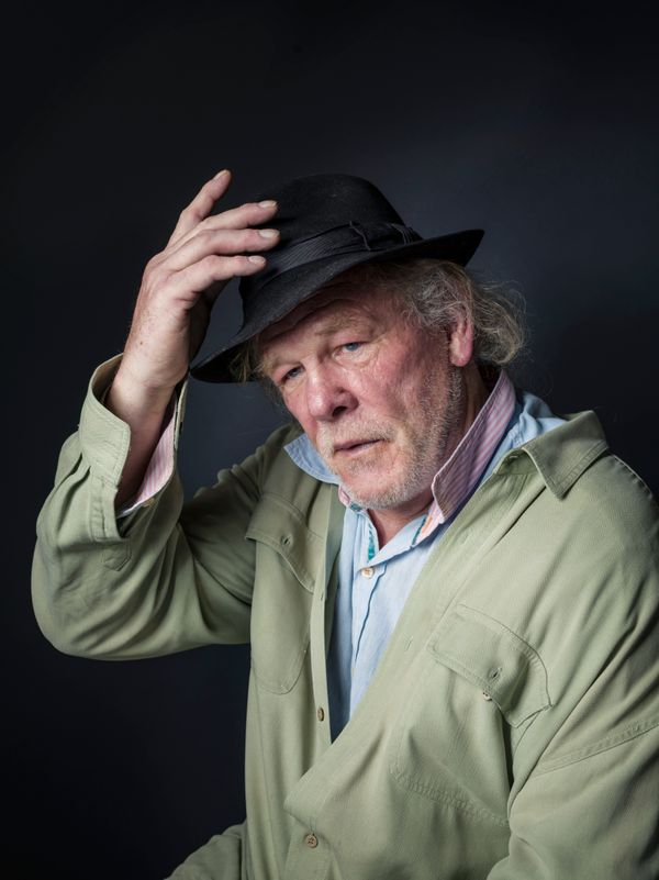 """""""A Walk in the Woods"""" star Nick Nolte."""