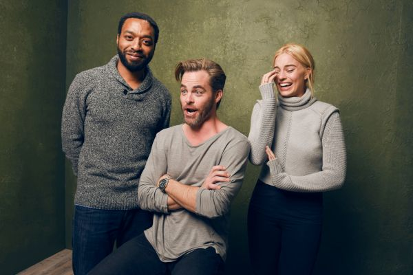 """Z for Zachariah"" stars Chiwetel Ejiofor, Chris Pine and Margot Robbie."