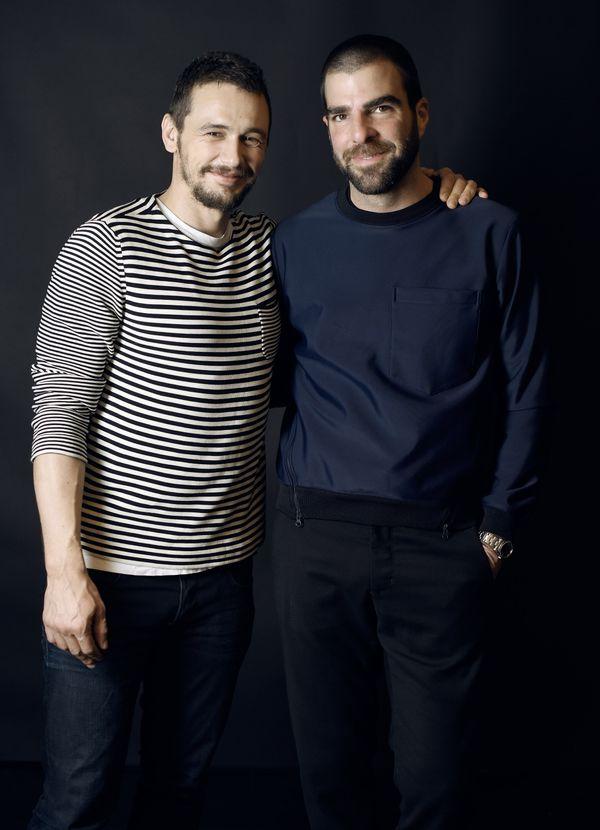 """I Am Michael"" stars James Franco and Zachary Quinto."