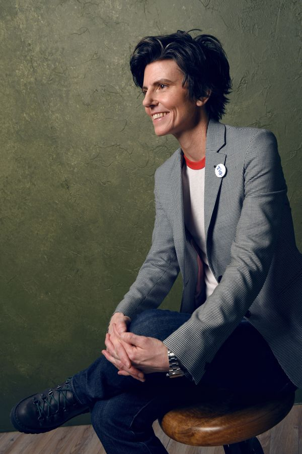 "Tig Notaro, producer and subject of the documentary, ""Tig."""