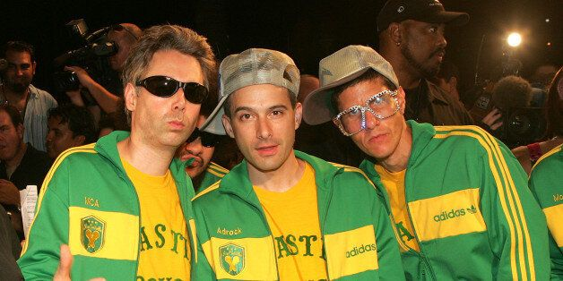 MIAMI BEACH, FL - OCTOBER 21:  The Beastie Boys arrive at the 2004 MTV Video Music Awards Latin America at the Jackie Gleason