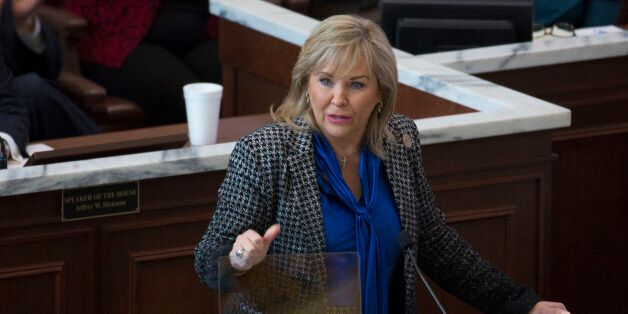 Oklahoma Gov. Mary Fallin proposes increasing the cigarette tax and expanding the sales tax to a variety of services that are