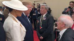 Il veterano fa un apprezzamento a Melania. Trump la prende