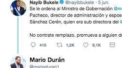 La cuenta de Twitter del presidente de El Salvador está dando mucho de qué hablar por cómo la