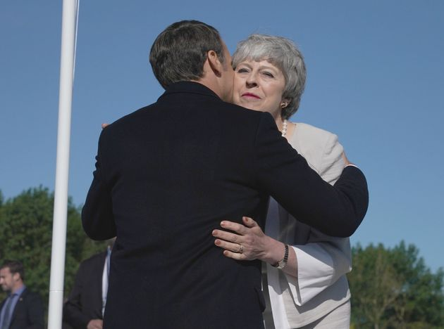 Débarquement: Macron dit