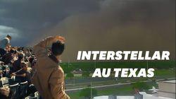 Cette tempête de poussière au Texas va beaucoup vous rappeler un film de